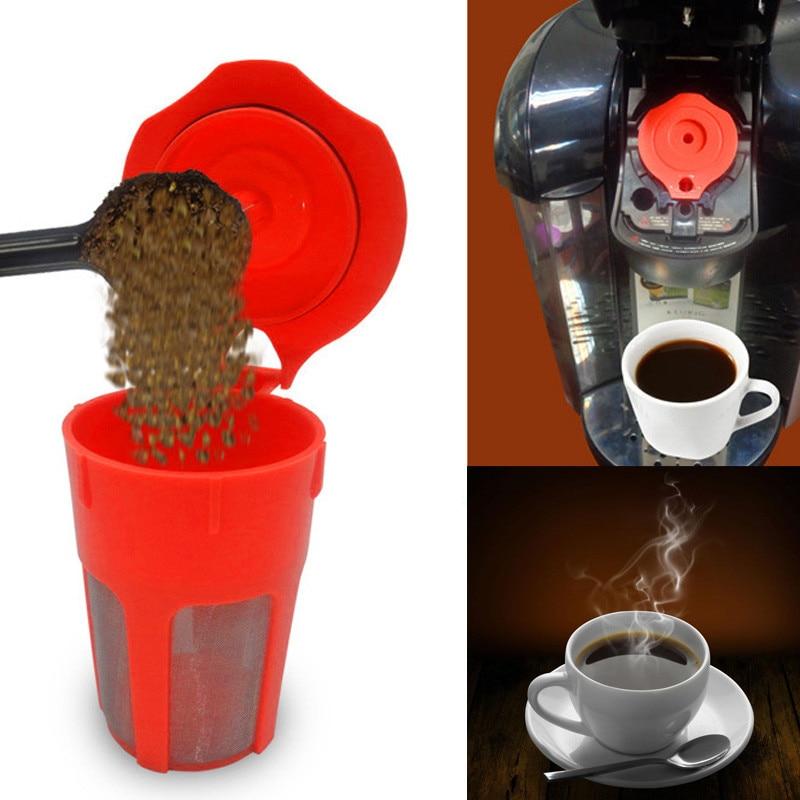 1Pcs Reusable K-Carafe Coffee Filter Replacement For Keurig 2.0 Large Cup 304 Stainless Steel Mesh K250 K300 K400 K500 Series L4