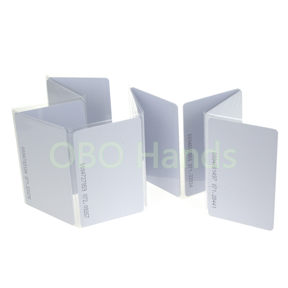 125KHz TK4100 ID smart rfid ID card for access control system and Time Attendance llaveros 100pcs a lot free shipping