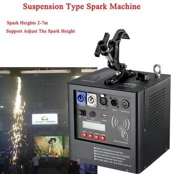 Terbaru Tahap Peralatan DJ 500W Spark Mesin Mendukung Spark 1-4M Tinggi Menyesuaikan Pernikahan Tahap Disco DJ Dingin Kembang Api Mesin