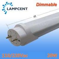 """Dimmable 48"""" 1.2m 1200MM 120CM 4Feet 4ft 20W G13 BI-Pin T8 LED Tube Light Fixture Bar Lamp Bulb 2-100 Pack"""