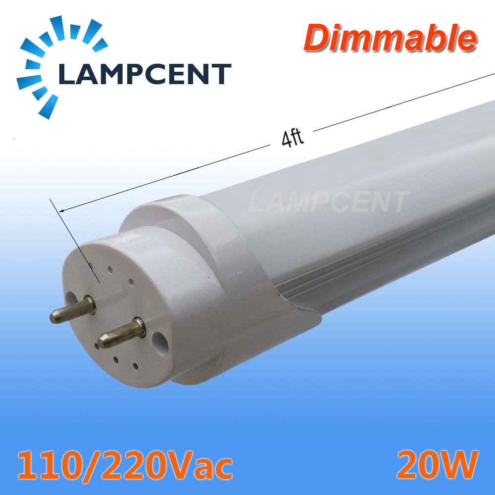 LED Tube Light 4 foot 48 1.2m 20W T8 G13 Bi-pin Fluorescent Retrofit Bulb Dimmable Bar Lamp 110V 220V 277V цена