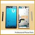 Оригинальный Новый Мобильный Телефон Корпус Для SONY Xperia M5 E5603 E5606 E5653 Передняя Рамка Корпуса ЖК Рамка Панель С Стороны кнопка