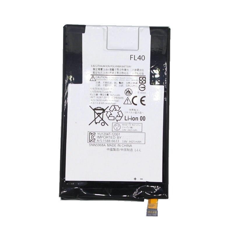FL40 1x3630 mAh bateria de Substituição Para Motorola Moto X 3A Moto X Play Dual XT1543 XT1544 XT1560 XT1561 XT1562 XT1563 XT1565