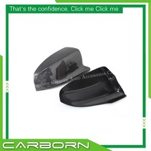 цена на For BMW X5M E70/ X6M E71 2008-2013 Add On Carbon Fiber Body Side Rear View Mirror Cover