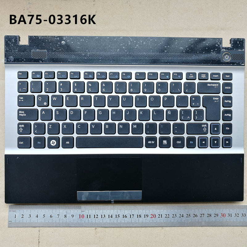 Latin layout new laptop keyboard  for Samsung NP300 14  NP300V4A 305V4A 300V4Z 305V4Z 200A4Y 200A4B LA BA75-03316K
