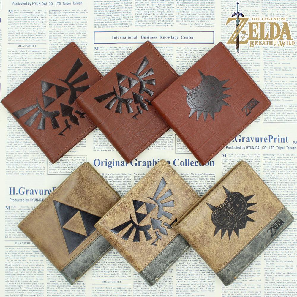 OHCOMICS Game The Legend of Zelda Link Wallet Purse Bag Handbag Cards Holder Notecase Layers Coin Costume Bag