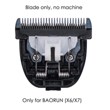 Original Black Ceramic Titanium Blade for Hair Clipper BAORUN X6 X7
