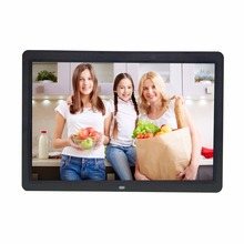 15 inch support 1080P picture player video player digital photo frame resolution 1280X800 support SD and USB drive
