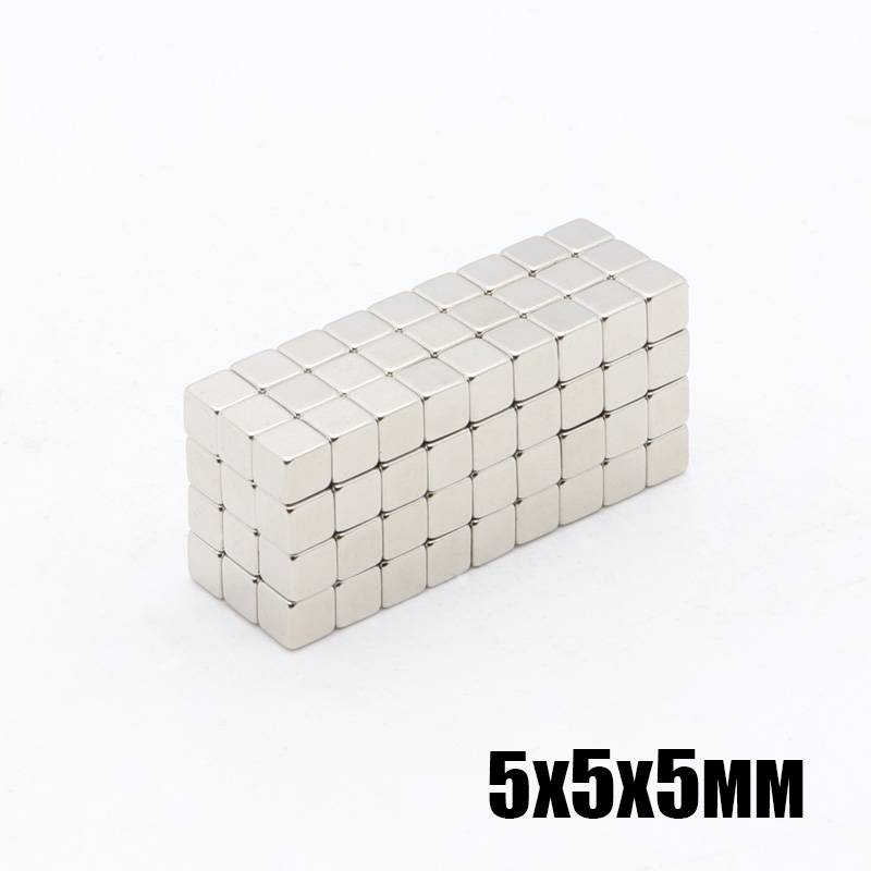 216Pcs <font><b>5x5x5</b></font> mm <font><b>Neodymium</b></font> <font><b>Magnet</b></font> Cube 5mm N35 Permanent NdFeB Super Strong Powerful Magnetic <font><b>Magnets</b></font> Square Buck Cube 5*5*5 mm image