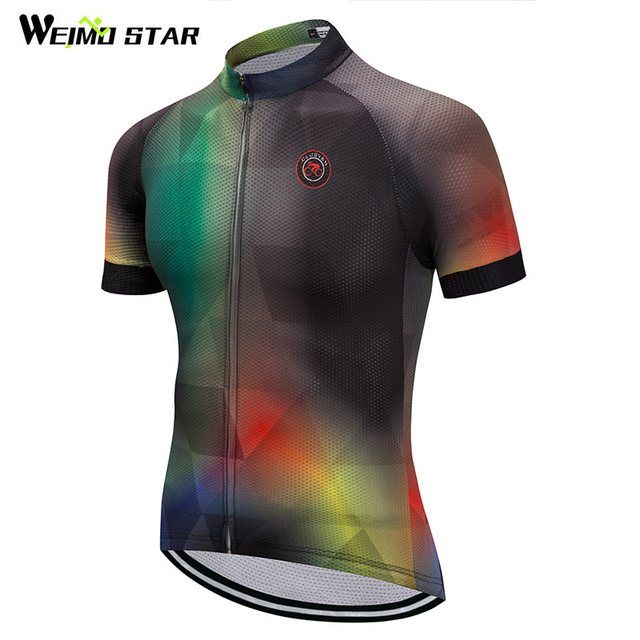 Special Price Weimostar 2018 Cycling Jersey Racing Sport Bicycle Clothing  Breathable Cycling Wear Clothes Short Sleeve 0b79126c4