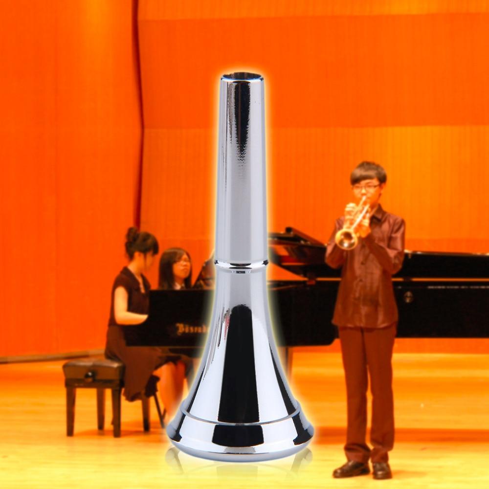 1 шт. Professional Посеребренная медь труба мундштук музыкальный инструмент Бесплатная доставка