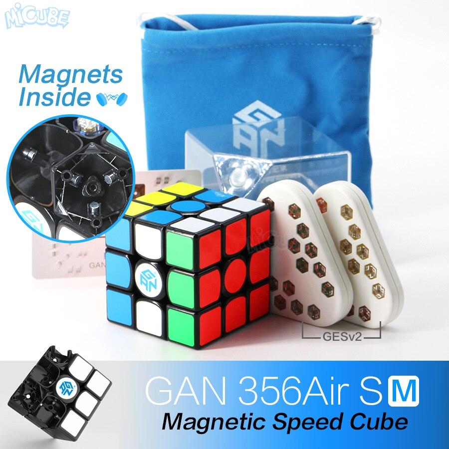 GAN 356 Air SM vitesse Cube positionnement magnétique supervitesse magnéto 3x3 Cubo Magico Gan356 Air SM 3x3x3 Cube magnétique Cube magique - 6