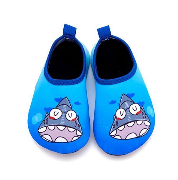 Kinder Schuhe Kinder Barfuß Wasser Schuhe Cartoon Schnell Trocknend Ultra-licht Tragbare Strand Schuhe Non-slip Jungen Mädchen Schwimmen Tauchen Socken Schuh