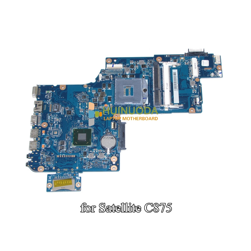 NOKOTION H000046310 Laptop Motherboard For Toshiba Satellite C870 C875 L870 Main Board 17.3 inch HD4000 HM76 DDR3 Mainboard nokotion genuine h000064160 main board for toshiba satellite nb15 nb15t laptop motherboard n2810 cpu ddr3