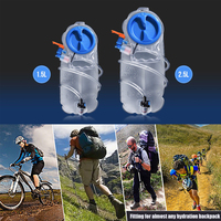 1 5L 2 5L Water Bladder Bag Hydration Pack Bag BPA Free Insulated Tube Outdoor Sports