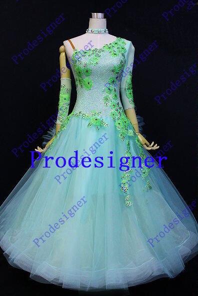 ballroom dance dress ballroom gown standard dance dress social dance wear,Standard Modern Waltz Tango Prodesigner