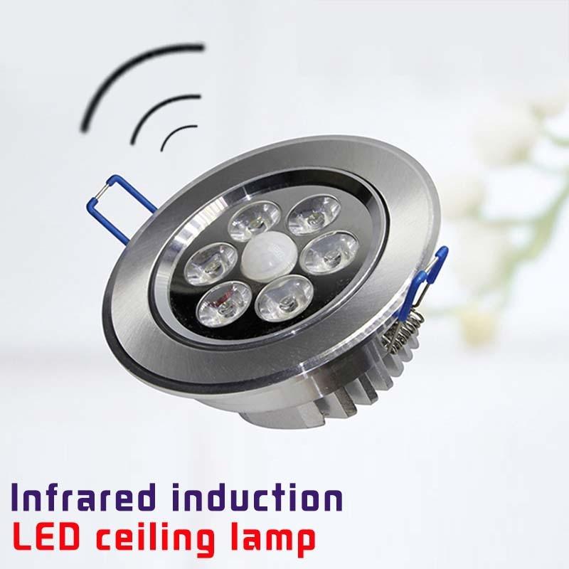 LED motion sensor ceiling light uses bathroom hallway ...