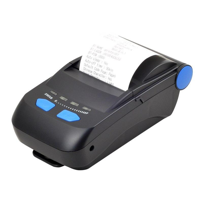 חדש הגיע נייד bluetooth מדפסת Bluetooth + USB ממשק תרמי קבלת מדפסת