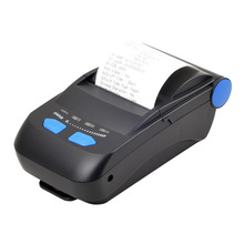 New arrived Portable bluetooth printer Bluetooth+USB interface thermal receipt printer