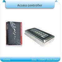 Guscio in metallo 125 KHZ RFID Di Prossimità Entrata Serratura Controllo Accessi con 10 di cristallo Portachiavi Uffici Domestici Sicurezza sistema