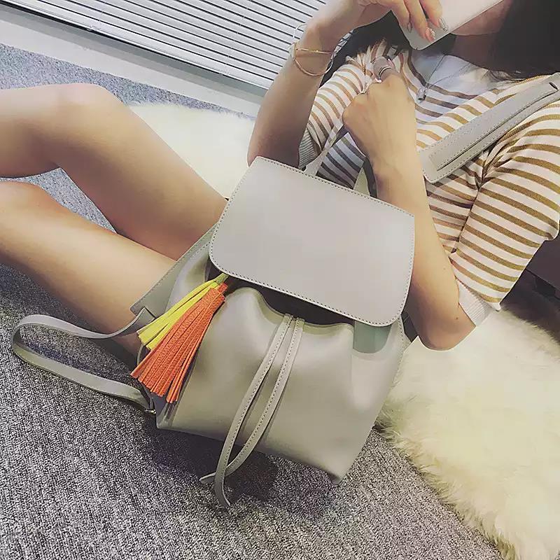 tinyat suave mochila de couro Peso : 0.6kg