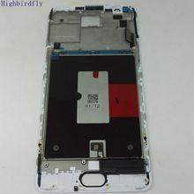 Amoled para oneplus 3/3 t a3000 a3003 lcd screen display + sensor de toque digitador vidro montagem do quadro peças reposição completa