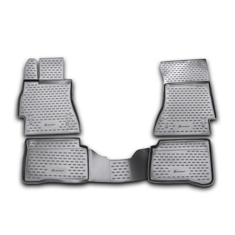 Mats in the salon For MERCEDES-BENZ S-Class W221 2005->, 4 PCs (polyurethane) недорго, оригинальная цена
