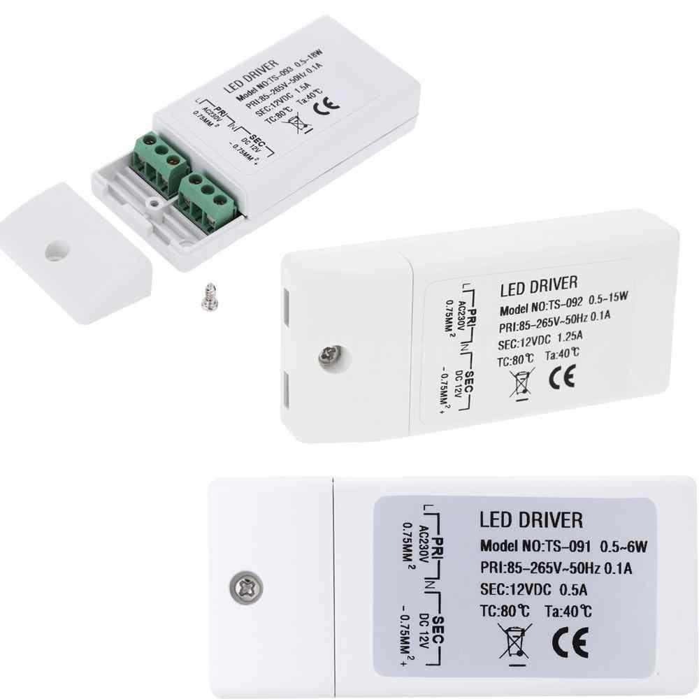 AC 85-265 V к DC 12 V SMD светодиодный драйвер светодиодный трансформатор Мощность трансформатор для MR11/G4/MR16/GU5.3 лампочки 18 W