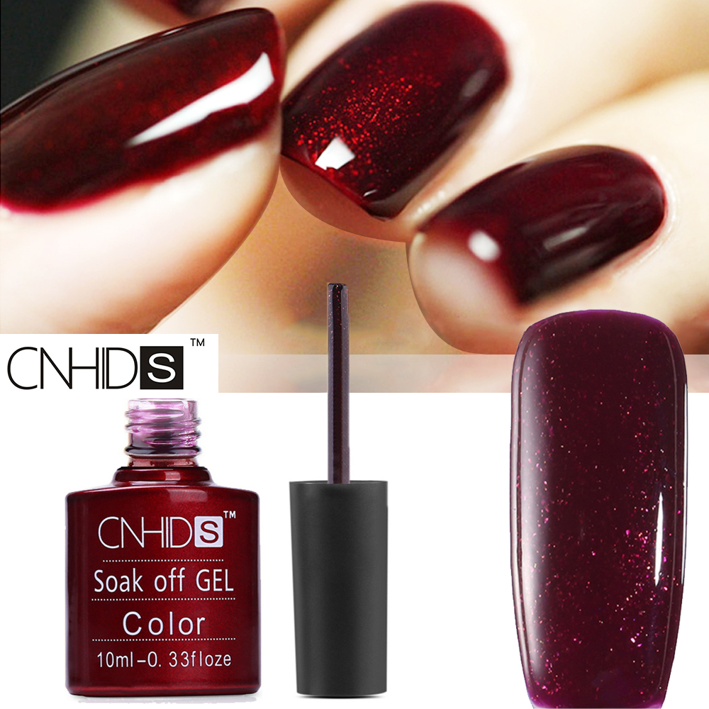 CNHIDS Top Quality Nail Polish Dark Color Soak Off UV & LED Lamp ...