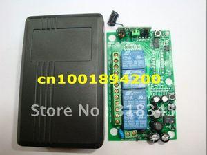 Image 3 - 85 V 260 V 4CH Manier draadloze lamp/schakelaar RF draadloze afstandsbediening drukknop zender & ontvanger M4/L4/T4 passen