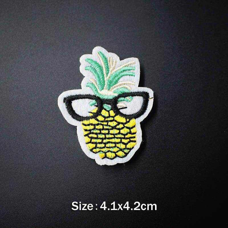 Банан молния кактус DIY тканевые значки для украшения утюга на патч одежда швейное украшение аппликация Пришивные нашивки - Цвет: 40