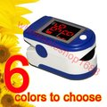 FDA fingertip Pulse oximeter Pulse monitor + case spo2 FREE shipping 10pcs/lot