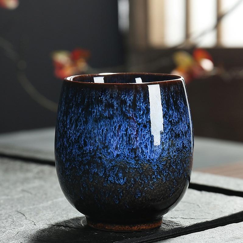 Handpainted Ceramic Gong Fu Teacups