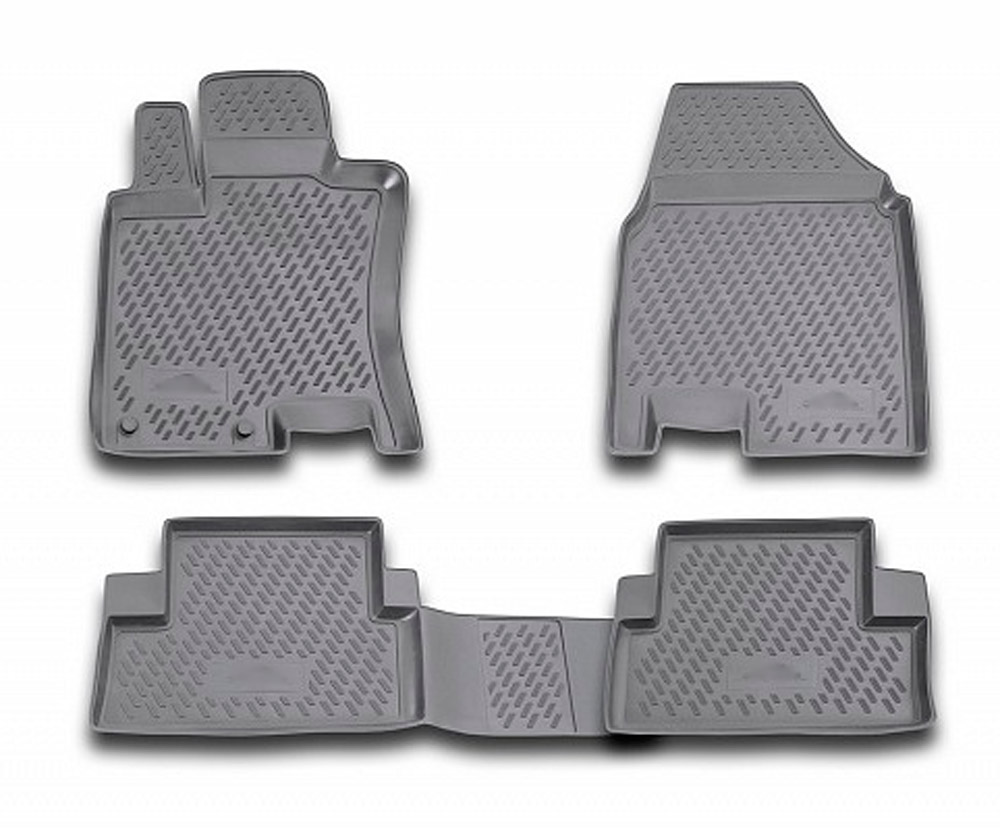 Floor mats case for Nissan Qashqai 2007 2014 4 pcs rubber rugs non slip rubber interior
