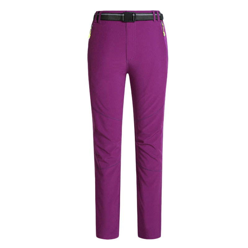 2016 Men Women Waterproof Breathable Quick-drying Pants Outdoor Sports Fleece Trousers Couple Mountain Hiking