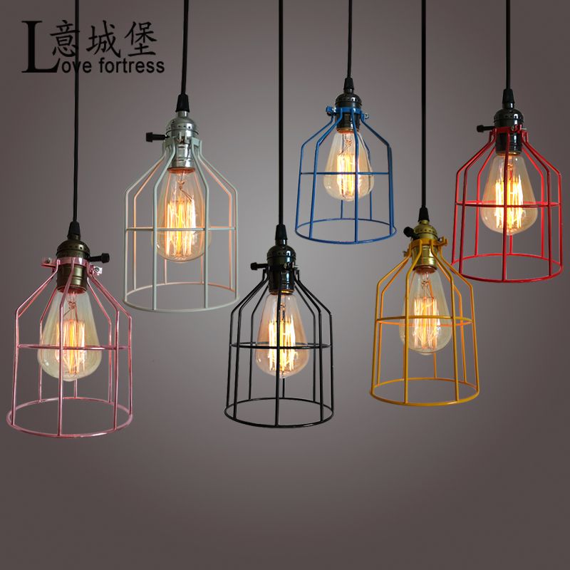 LED Artifact Design Pendant Light Industrial Vintage Style Curved Top Light Cage lamp edison style tube bulb vintage retro lookLED Artifact Design Pendant Light Industrial Vintage Style Curved Top Light Cage lamp edison style tube bulb vintage retro look