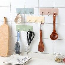 цены на 3 In 1 Kitchen Organizer Hook Strong Suction Wall Key Hanger Sucker Wall Hooks Hanger For Kitchen Bathroom Towels Storage Holder  в интернет-магазинах