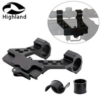 Hunting Rifle AK47 Quick Detach AK Side Rail Scope Mount with Integral 1 Inch 25mm/30mm Ring Mount