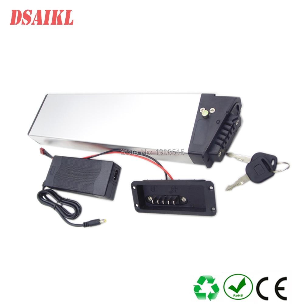 Купить с кэшбэком EU US no tax hidden ebike battery pack 36V 10Ah 12Ah with 42V 2A charger for 250W foldable ebike