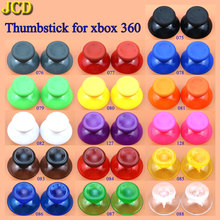 JCD 2pcs 16 Color Analog Joystick Grip Cap for Microsoft Xbox 360 Joypad Controller Mushroom Joystick Cover