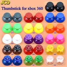 JCD 2pcs 16 צבע אנלוגי ג ויסטיק גריפ כובע עבור Microsoft Xbox 360 Joypad בקר פטריות ג ויסטיק כיסוי
