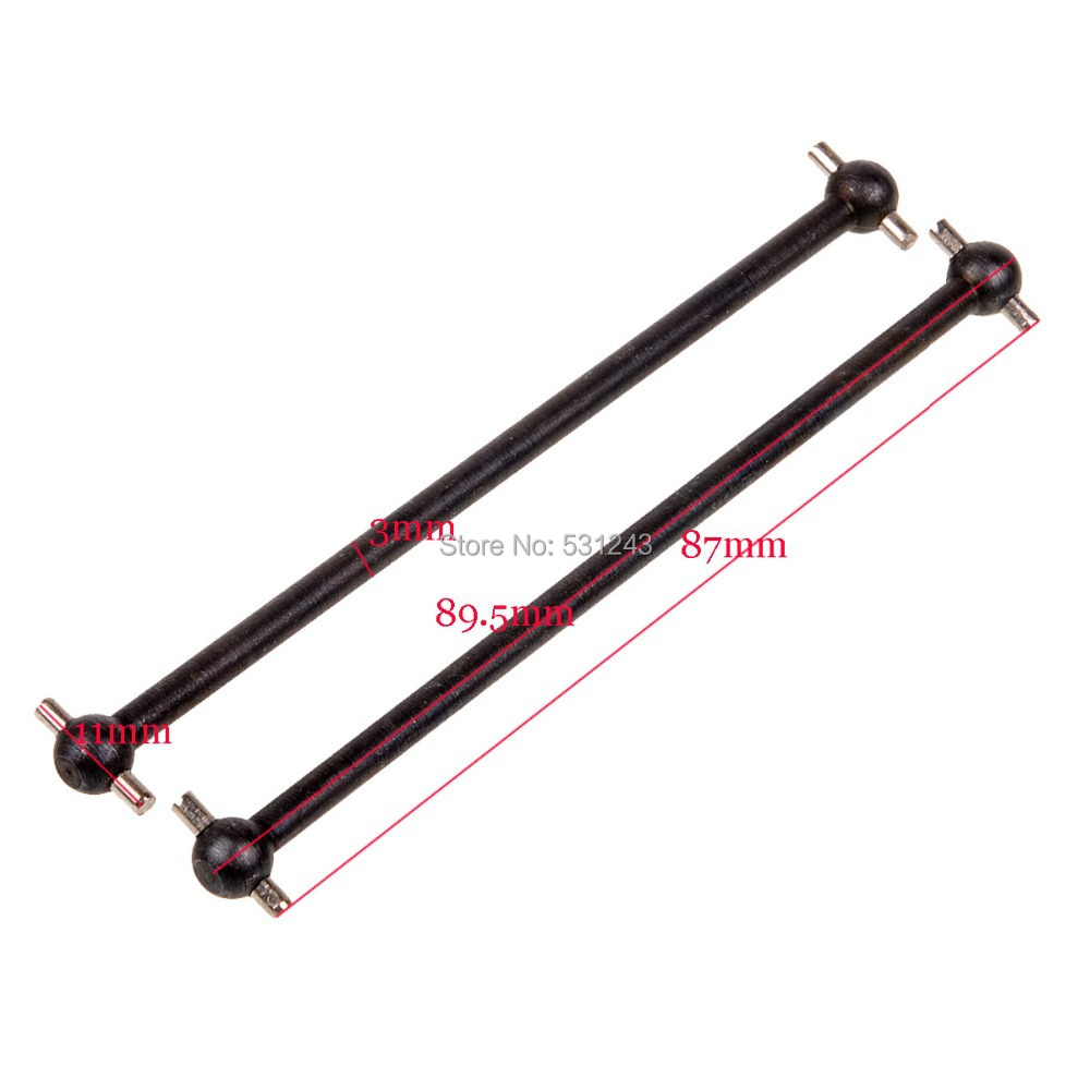 08029 Front/Rear Dogbone RC HSP 1/10th Car Buggy Truck 94110 94111 94115 94112