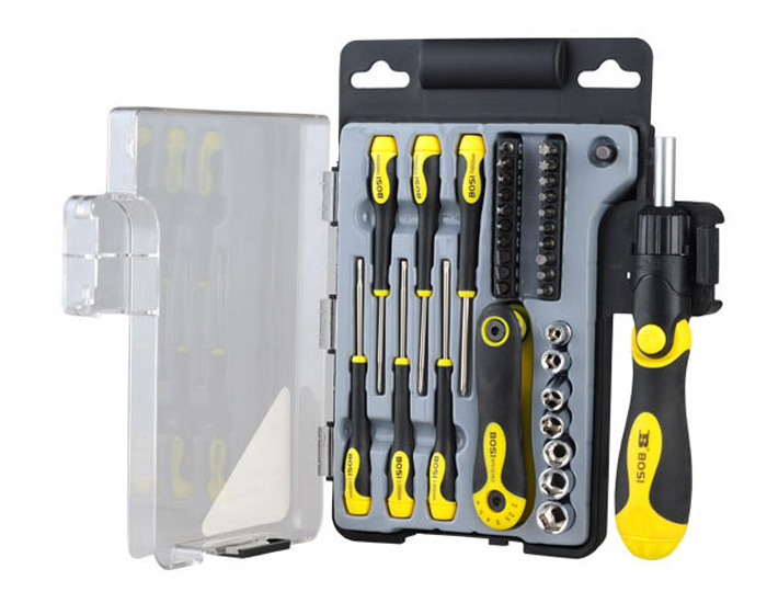 free shipping BOSI 36pc precision screwdriver bits sockets kit