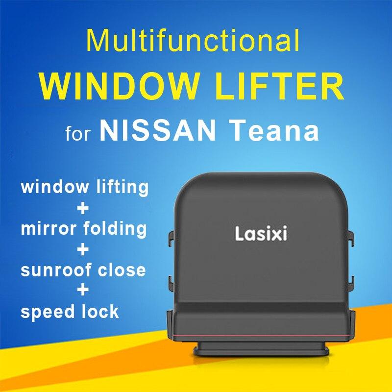 Automóvel Janela de Poder de Elevação dobrável + espelho retrovisor + bloqueio de velocidade + teto solar perto adequado para NIssan Teana 2013- 2019