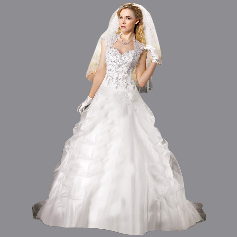Keyhole Wedding Gowns: Free Shipping Ball Gown Sweetheart Keyhole Back Ruched