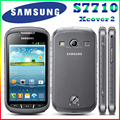 S7710 Original Samsung Xcover 2 S7710 1700mAh 5MP GPS WIFI 4.0 Touchscreen Cellphone Unlocked Free Shipping
