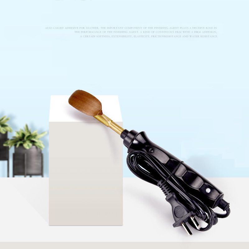 Electric Iron Smooth Leather Wrinkle Iron Fur Clothing Leather Product Tools Shoemaking Tools