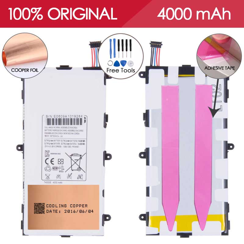 Allparts 100 TESTED T4000E 4000mAh Li ion Mobile Phone Battery For SAMSUNG Galaxy Tab 3 7