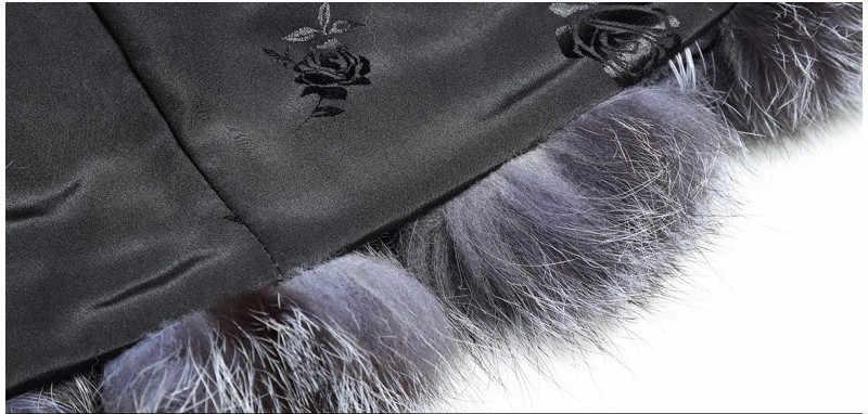 シルバーフォックスベスト革 2019 冬の女性の毛皮のベストの秋 Femle 毛皮のベスト冬の毛皮ノースリーブ生き抜くコート A2044