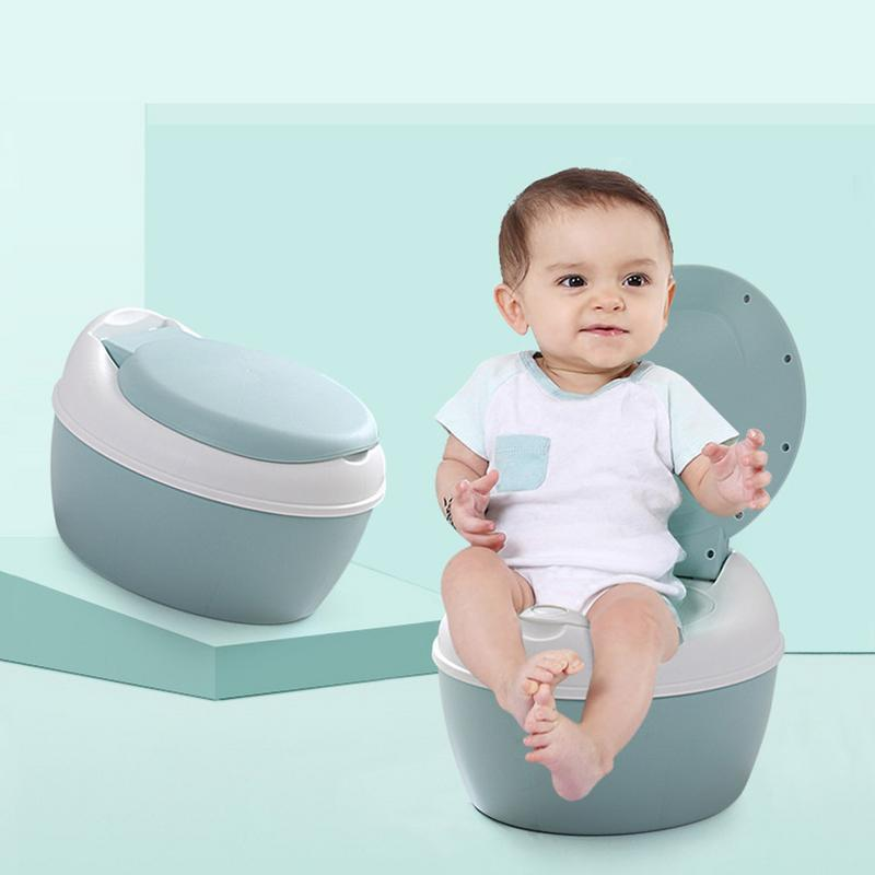2 colors Simulation Baby Toilet Training Small Size Potty For Kids Indoor WC Baby Potty Chair Plastic Children's Potty Chair